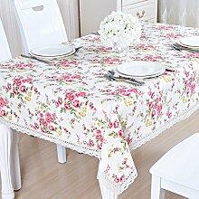 Tabelle cloth karo cloth garten baumwolle leinen klein frisch continental tischtuch rechteckig viereck ikea-U 130x180cm(51x71inch)