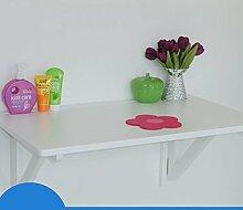 Tabelle LHA Wandtisch aus massivem Holz, klappbar