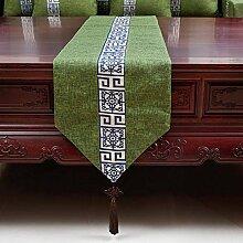 Tabelle runner chinese modern cloth tischtuch schuh cover tuch tv schrank-A 33x240cm(13x94inch)