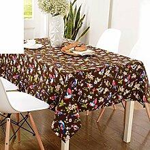 Tabelle Tuch Tischdecke,Tuch Tisch Tisch Tisch Tuch Tischdecke-B 130*180cm(51x71inch)