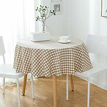 Table Decoration Polyester-Tischdecke Gingham