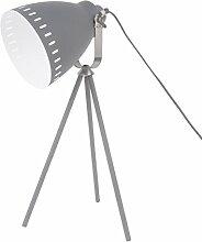 Table lamp Mingle 3 Legs Metal Grey, Nickle Acc.