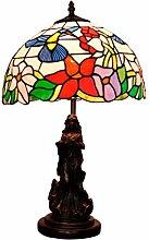 Table Lamp Pastorale Art Glas Tischlampe Tiffany