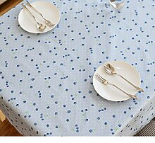 Tablecloth.A ASL Blue Bottom Cherry Tuch
