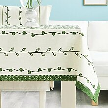 Tablecloth.A ASL Frische Simple Fashion Rectangle