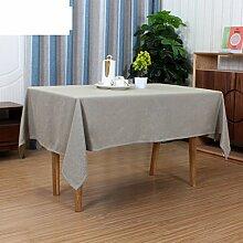 Tablecloth Baumwoll-leinen-tisch mit rechteckigen