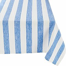 Tablecloth Blue Linen Philippe