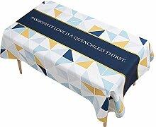 Tablecloth Cotton, Tisch Decken Deko, Wasserfeste