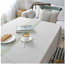 Tablecloth Einfacher Tisch, modern, Baumwolle und