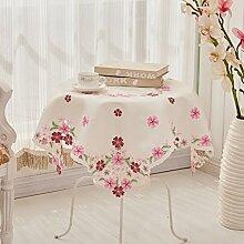 Tablecloth Europäischer stoff garten tea tisch