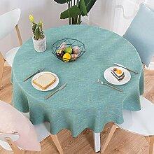 Tablecloth Gartentischdecke Leinenoptik Tischdecke