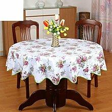 Tablecloth Pvc tischdecke,Runde tischdecke für