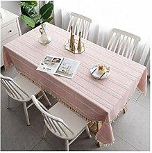 Tablecloth Rechteckige Tischdecke, gestickte