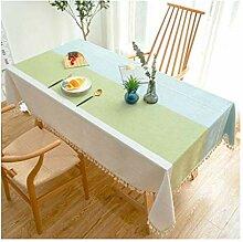 Tablecloth Rechteckige Tischdecke - Gestreifte