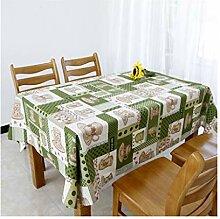 Tablecloth Rechteckige Tischdecke, Karierte