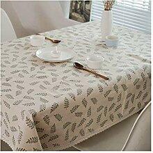 Tablecloth Rechteckige Tischdecke, Tischdecke mit