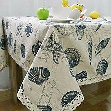 Tablecloth Retro Bettwäsche Tischdecke mit Spitze