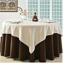 Tablecloth Runde Tischdecke - Baumwollstoff for
