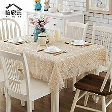 Tablecloth-Spitze Tischdecke, rechteckigen