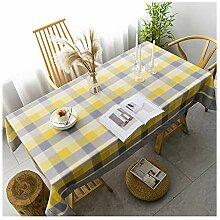 Tablecloth Tischdecke, quadratisch, kariert,