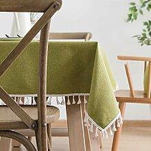 Tablecloth Tischdecke Stoff Baumwolle und Leinen