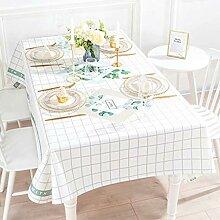 Tablecloth Tischdecke Stoff Nordic frische grüne