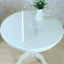 Tablecloth Vbimlxft Tischdecke, rund, PVC,