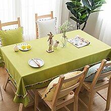 Tablecloth WERLM Moderne Mode Baumwolle