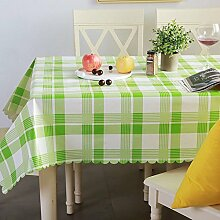 Tablecloth WERLM PVC plastik Einweg Tischdecken wasserdicht Hitzebeständige Tischdecken Rechteckige Tischdecke, 3.135*160 CM