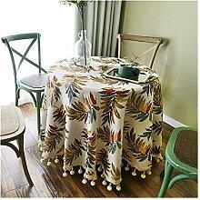 Tablecloth WHQ Runde Tischdecke-Amerikanische