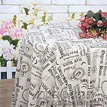 Tablecloths Europäische minimalistische kunst retro couchtisch tisch tisch tuch tuch tischdecke-B 140x200cm(55x79inch)