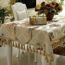 Tablecloths Tischdecke,Tischläufer,Kissen,Einfache Europäische,Tabelle Tuch,Tuchdecke Tuch,Tee Tischdecke-A 140x200cm(55x79inch)