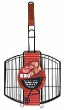 TableCraft BBQ Grillkorb mit Antihaftbeschichtung,