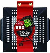 TableCraft BBQ Grillkorb mit Stahlgriff,