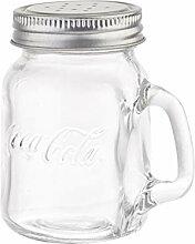 Tablecraft Coca-Cola Mason S&P Streudose, Glas mit
