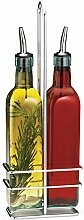 Tablecraft Prima Öl und Essig Flaschen-Set Salat