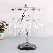 Tabletop Wein Cup Rack, 6 Weinglas Halter