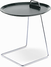 Tablett-Tisch Porter grau, Designer Designstudio