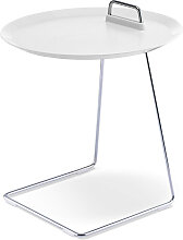 Tablett-Tisch Porter weiß, Designer Designstudio