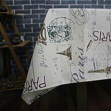 Taboeoe Aus Baumwollgewebe Der Europäischen Klassischen Pastorale Pastorale Bettwäsche Tischdecke Tischdecke, Stempel, 100 Cm * 100 Cm