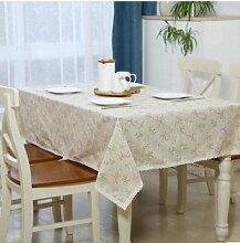 Taboeoe Baumwolle Die Europäischen Holz Tischdecke Tischdecke Home Hotel Tagung, Gras, Gras, 140 * 213