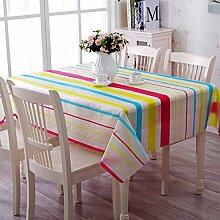 Taboeoe Ein Kunststoff Tischdecke Pvc-Kunststoff Tischdecke Tabelle Tabelle Wasserdicht Öl., Lanshuye, 130 * 180 Cm