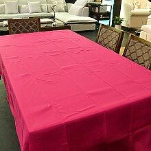 Taboeoe Hotel Tischdecke Rose Rot Rund Durchmesser 160 Cm