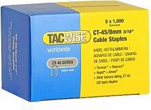 Tacwise 0351 Heftklammern Verzinkt (CT-45/8mm