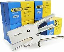 Tacwise 1199 HD-73 Heftzange & 5 Schachteln 5.000