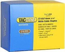 Tacwise Heftklammern CT-60/14 mm, 5000