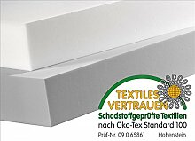 Tafel 100 x 50cm aus BASOTECT® 3cm weiß