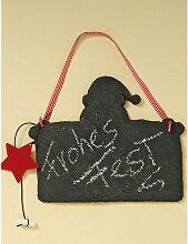 Tafel Memotafel mit Weihnachtsmann