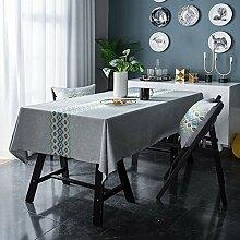 Tafeldecke, Leinen Decke, Abwaschbar, Mit