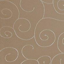 Tafeldecke Paulina Eckig 135x180 cm Cappuccino Beige Nougat - Farbe wählbar · Fleckabweisend Tischdecke